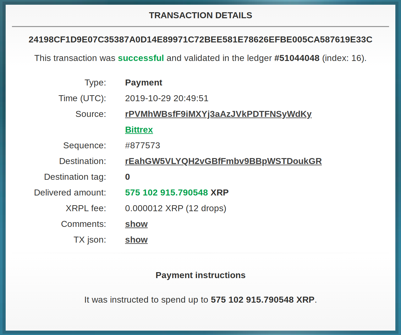 Crypto Exchange Says There's No Need for Alarm After 875,102,912 XRP Moves to Unknown Wallets in Four Giant Transfers